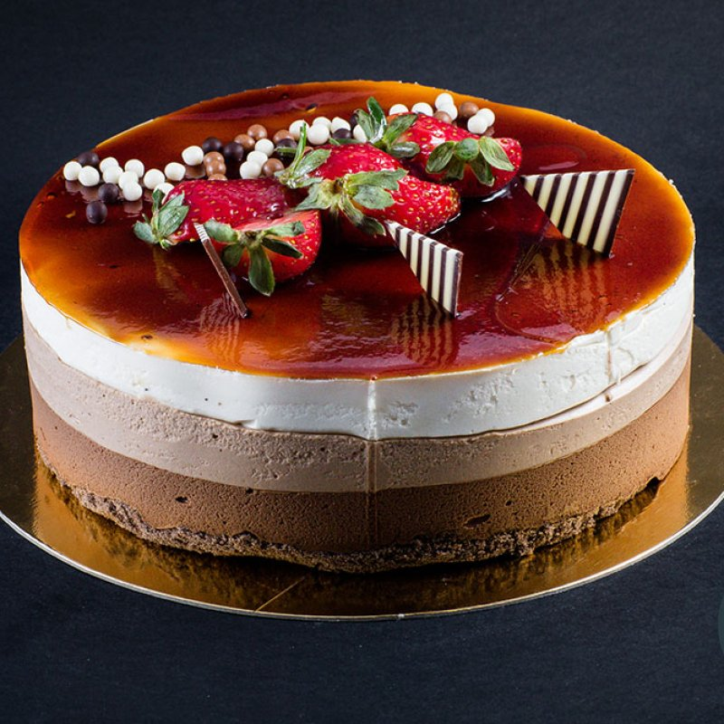 Tort Trio Chocolate