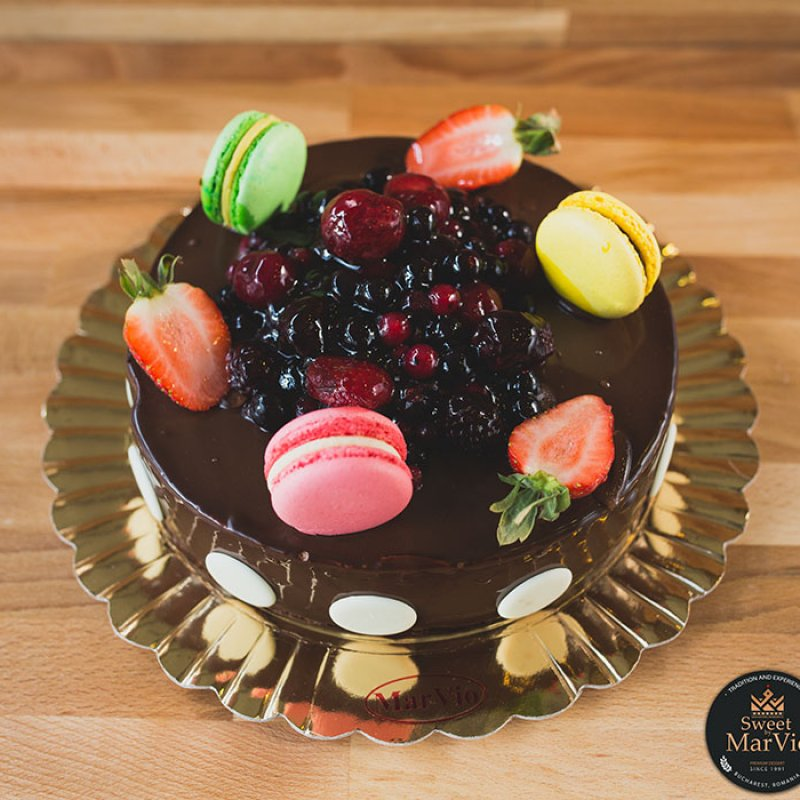 Tort Mousse Fruit